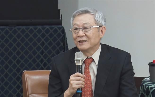 淡江大學中國大陸研究所榮譽教授趙春山。(圖/中時新聞網攝)