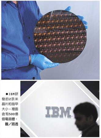 獨步全球 IBM發表2奈米晶片