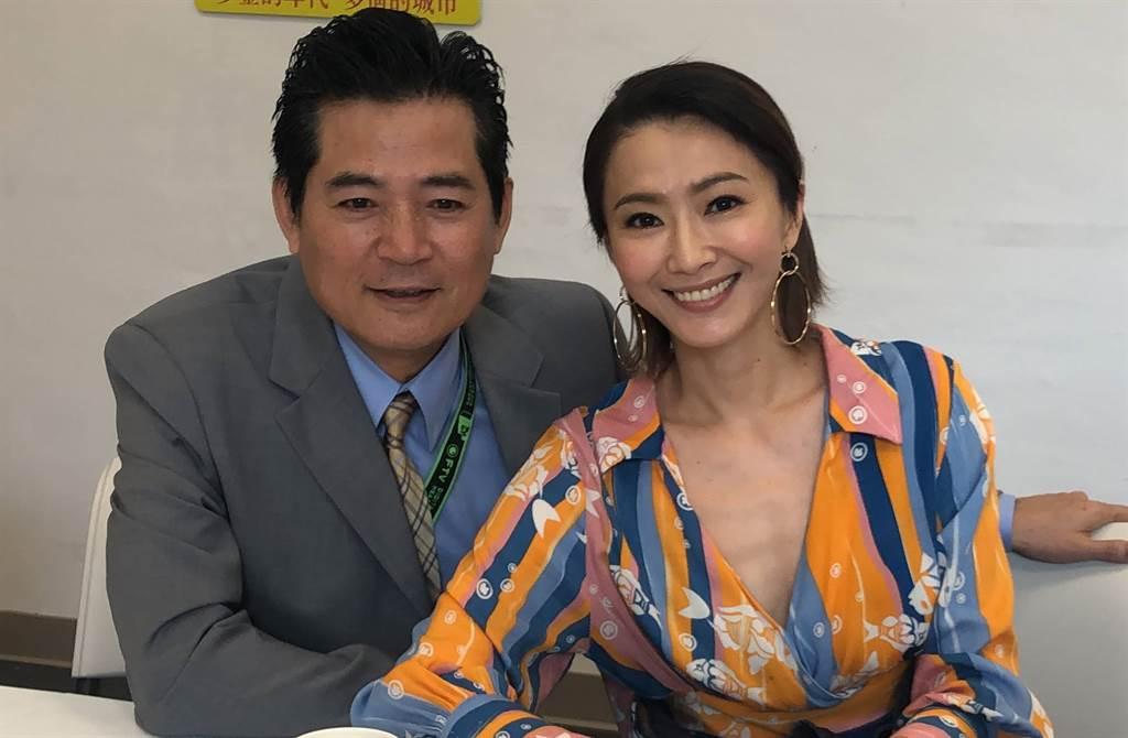 侯怡君與蕭大陸情牽20年,如今她對男友的稱謂有了變化。(中時資料照片/民視提供)
