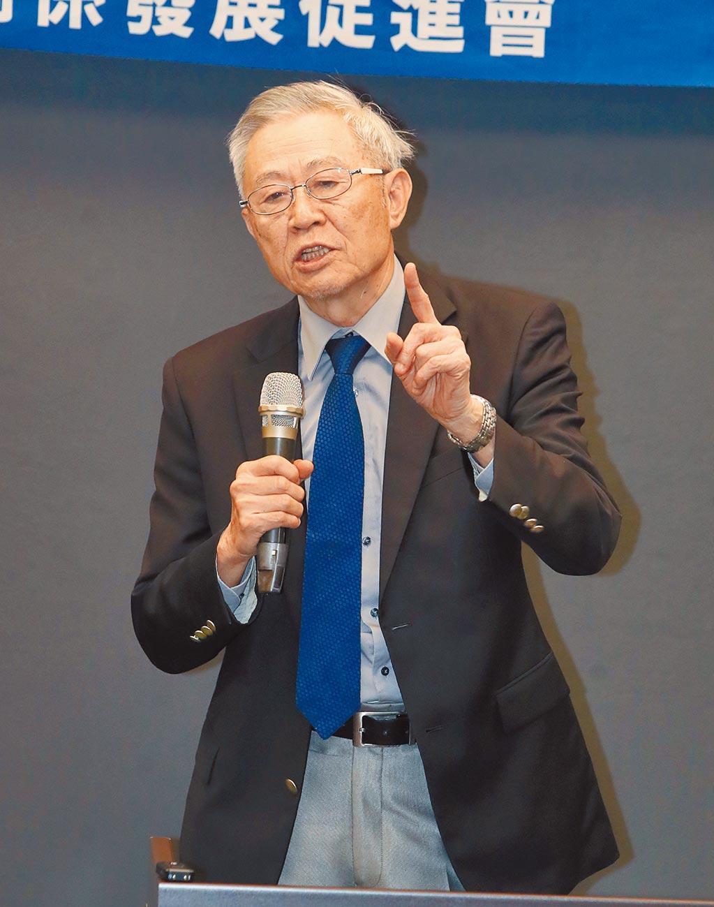 淡江大學大陸研究所榮譽教授趙春山。(本報資料照片)