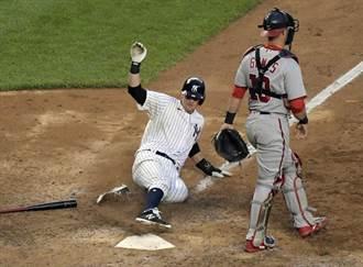 MLB》薛神14K做白工 洋基延長賽逆轉偷走勝利