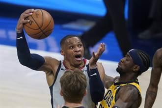 NBA》韋斯布魯克大三元追平史上第1 巫師OT險勝