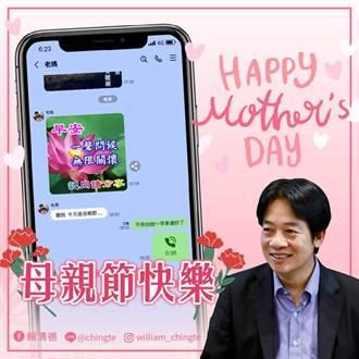 蔡英文丶賴清德發文祝母親節快樂 提醒落實防疫