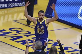 NBA》柯瑞單場11顆三分球飆49分 勇士宰翻雷霆