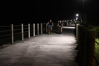 點亮化仁海堤步道 吉安鄉公所推路燈認養