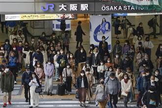 大阪每百萬人死者數超越印度 外出人潮不減反增