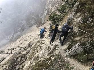 攀登八大秀山域 男摔落百公尺溪谷獲救