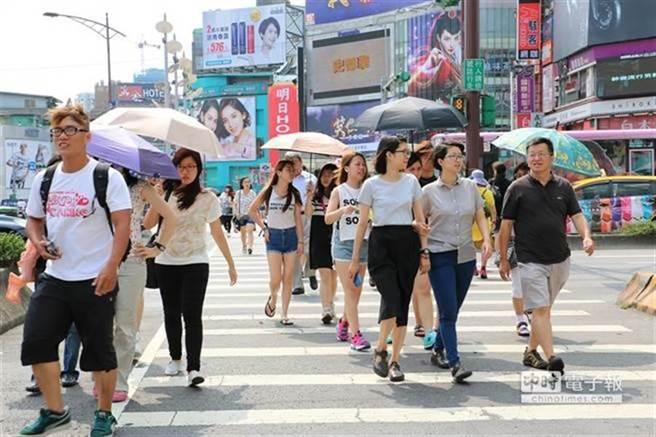 下週高壓的中心將來到台灣東側,高溫少雨的天氣可持續約10天,甚至更久,預計在5月下旬高壓勢力稍減弱,梅雨鋒面才可能南下。(圖/本報系資料照)