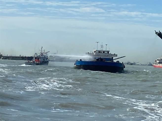 據馬祖海巡隊統計,馬祖海域今年1月至今共獲報24件大陸籍漁船越界,均立即派遣船艦驅離。(示意圖,馬祖海巡隊提供)