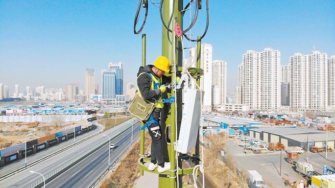 2021年通訊技術的進代與新產品發展也是導致缺貨的原因之一。圖/新華社