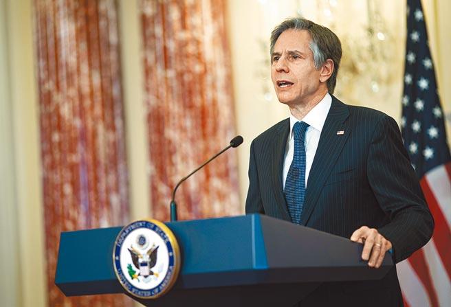 美國國務卿布林肯力挺台灣參與WHA。(美聯社)