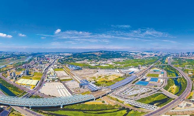 台中市府大力推動交通建設,為招商引資增加更多有利條件。(台中市府提供/盧金足台中傳真)