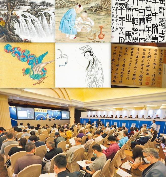 帝圖藝術2021春季拍賣會開徵集台灣書畫與生貨拍品。(帝圖科技提供)