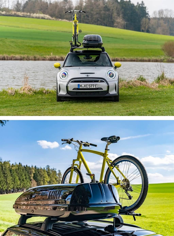 師法Countryman!MINI也為3-door、5-Door及Cooper SE電動車推出「凹豆」旅行套件