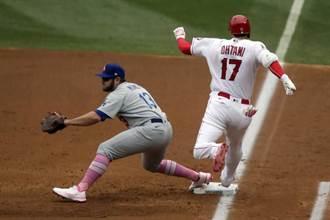 MLB》大谷再演快腿安打 天使贏得洛城系列賽