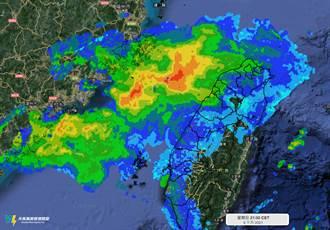 雷達回波「紅紅一大片」卻沒下大雨 超慘原因曝光