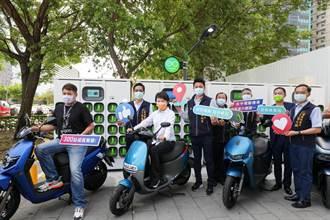 盧秀燕改善空污展決心 台中電動機車2年3倍增