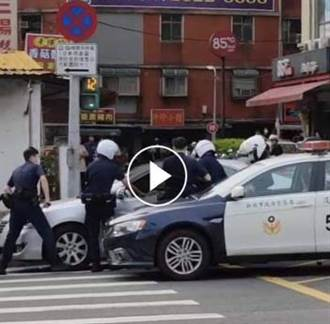 惡男攜槍毆人還亂喊「警察打人」 遭警壓制送辦