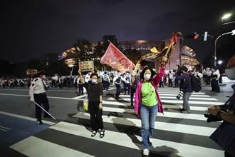 東京緊急宣言期間辦奧運測試賽 約百人遊行抗議