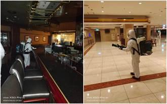 確診機師來過 台北福華七賢吧停業7天