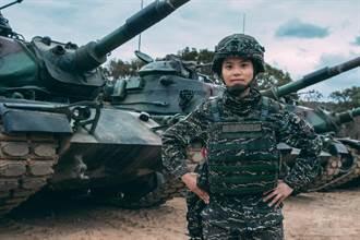 海軍陸戰隊史上首位女性戰車連長 正妹陳柔安曝光