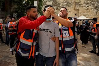 耶路撒冷再爆以巴警民衝突 數百人受傷