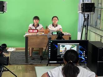 南市官田國小首創「食農報報」攝錄影室 推展食農教育