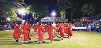 佳里北頭洋夜祭 西拉雅舞團秀才藝