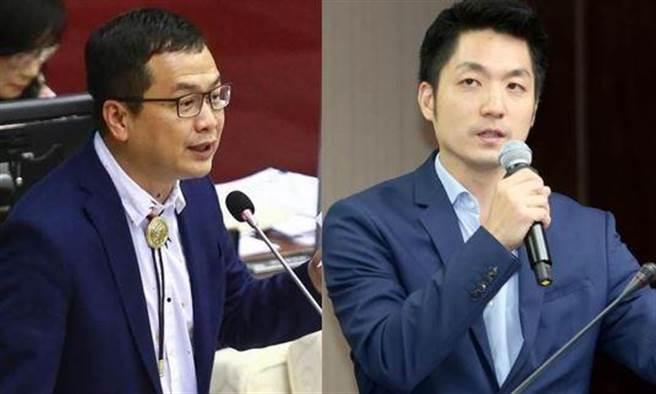 台北市議員羅智強、立委蔣萬安。(合成圖/資料照)