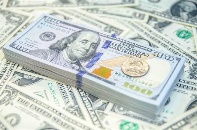 最近幾天,美元大幅下跌,又回到了年初時的水準。(示意圖/shutterstock)