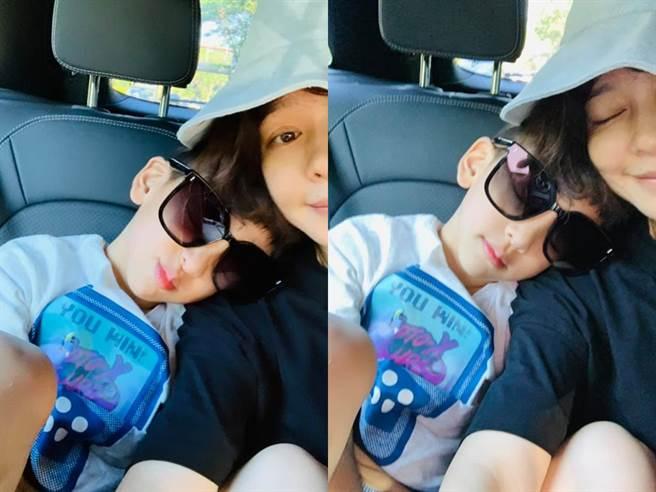 徐若瑄回到新加坡,馬上就能跟兒子見面。(圖/FB@徐若瑄)
