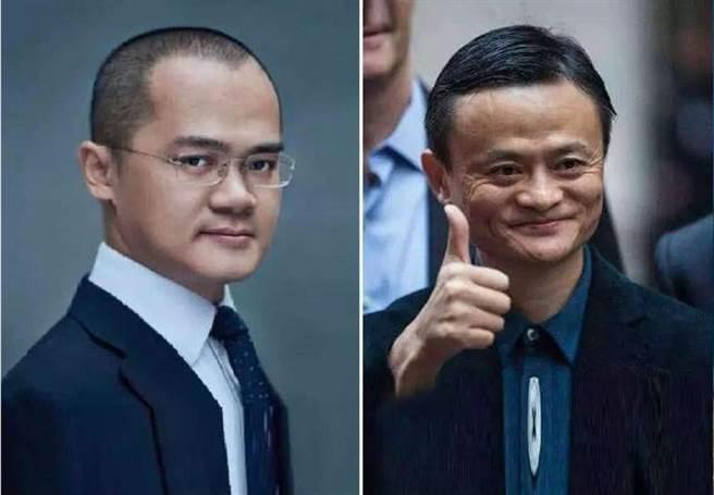 美團創始人王興(左)在社交平台貼出古詩,被疑是借古諷今,外界擔憂他可能步上馬雲(右)後塵。(圖/合成圖)