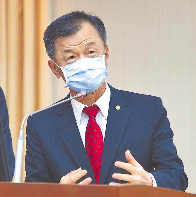 陸委會主委邱太三。(本報資料照片)