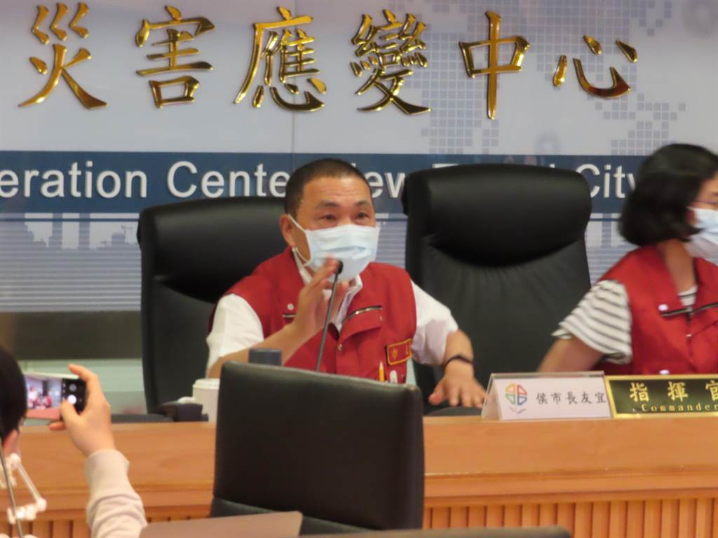 新北防疫升二級 蘆洲、新莊兩區校園全面禁止開放。(葉德正攝)