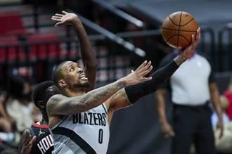 NBA》拓荒者創隊史紀錄 首節砍50分射落火箭