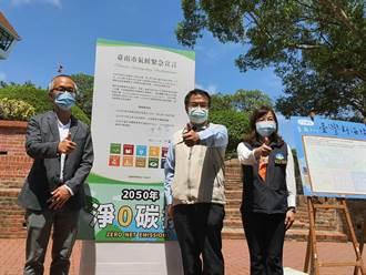黃偉哲簽署氣候緊急宣言 承諾永續發展新目標