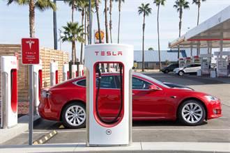 陸4月新能源車零售年增2倍 特斯拉月減27%