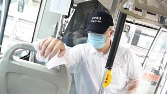 防疫二級警戒 新北公車加密每班次清消
