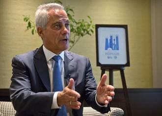 美駐日本大使新人選 傳前芝加哥市長易曼紐出線