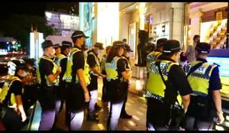 影》防疫上緊發條 台中警方重兵臨檢金錢豹酒店、柏青哥