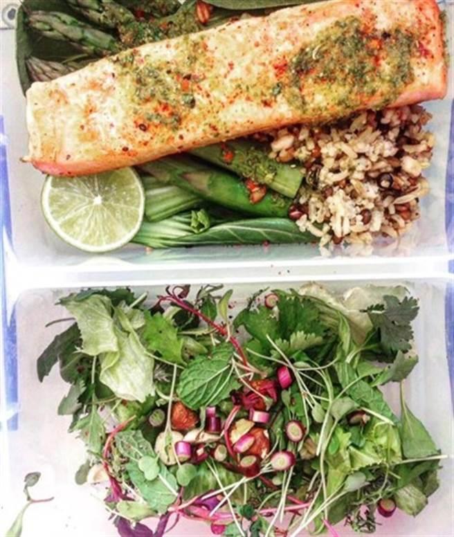 (餐點示意圖。圖片來源/Instagram 康健雜誌提供)