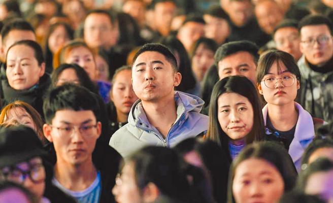 中國第七次全國人口普查,統計在陸台灣居民15萬7886人。(圖/中新社資料照)