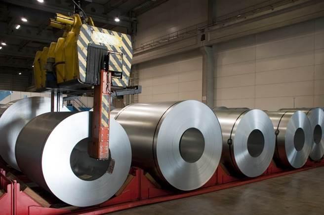 台灣鋼鐵龍頭中鋼遭外資大量賣超。(圖/達志影像)
