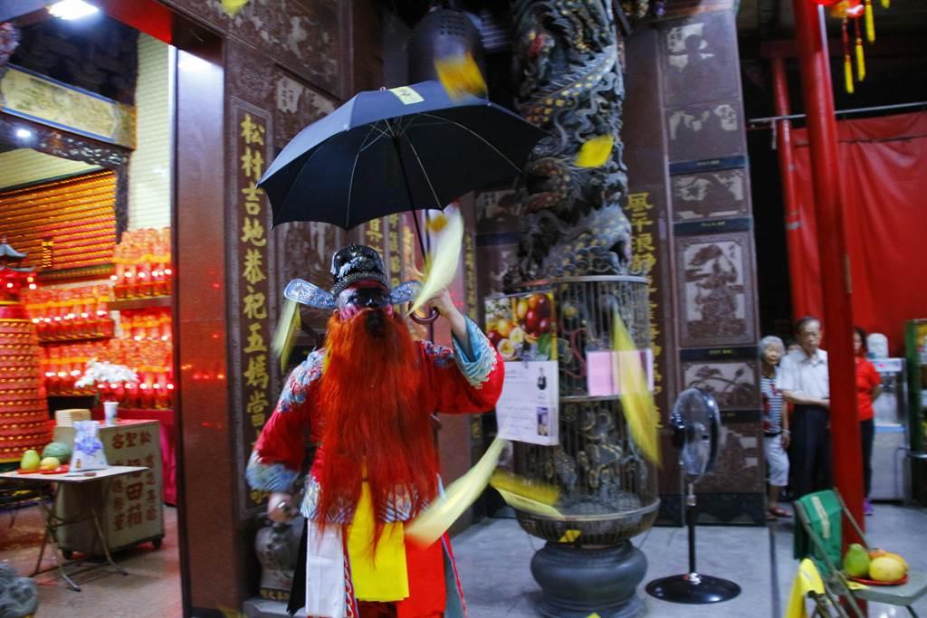 台中沙鹿明晚將舉辦「送肉粽」儀式,網路流傳法會時程及送煞路線,提醒民眾迴避。(朱炳炫提供/王文吉台中傳真)