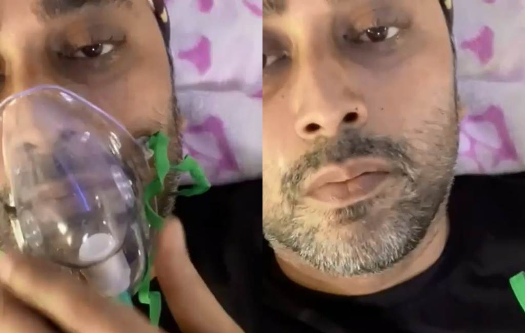 印度名演員拉胡爾·沃拉(Rahul Vohra)10日不幸染疫身亡。(圖/IG@ ijyotitiwari)
