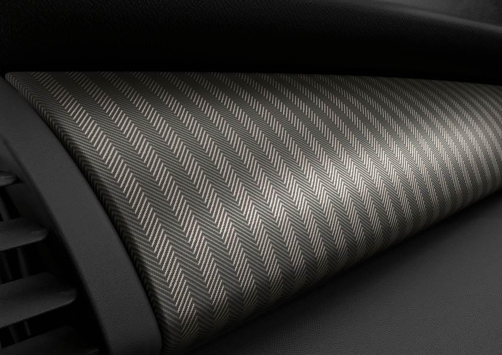 MINI Yours內裝飾板Fibre Alloy Illuminated打造前方儀表台,構築出奢華細膩的座艙氛圍。