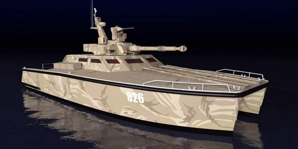 坦克船有足夠的火力,還有頗大的裝載量。(圖/PT Lundin)