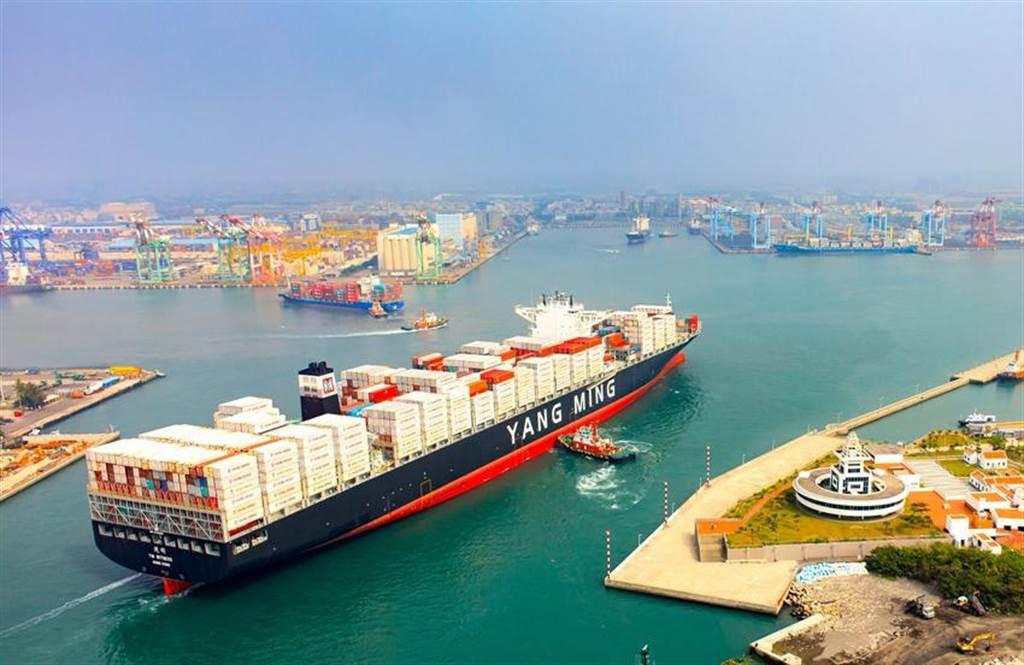 陽明今年首季獲利在貨櫃三雄當中稱王。(圖/陽明提供)