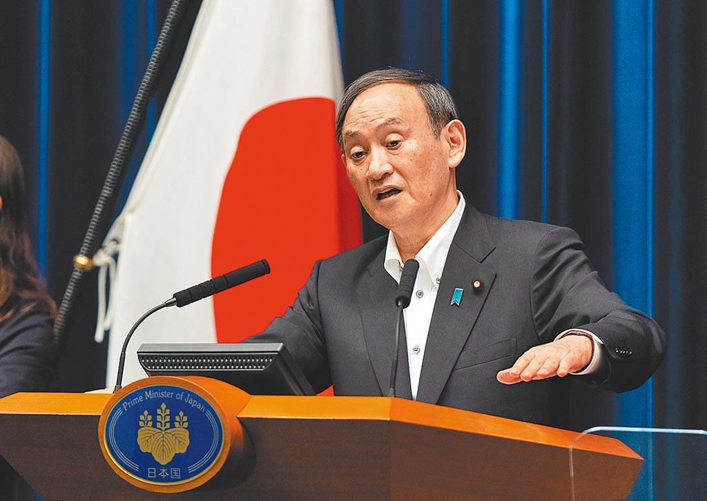 日本首相菅義偉今年9月將面臨連任挑戰,幾乎與此同時國會眾議院也將改選,屆時菅義偉政權成敗與否,攸關美國總統拜登對印太地區戰略布局。(路透)