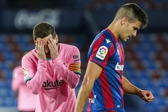足球》巴薩3:3錯失勝利 關鍵期崩盤幾乎告別西甲冠軍
